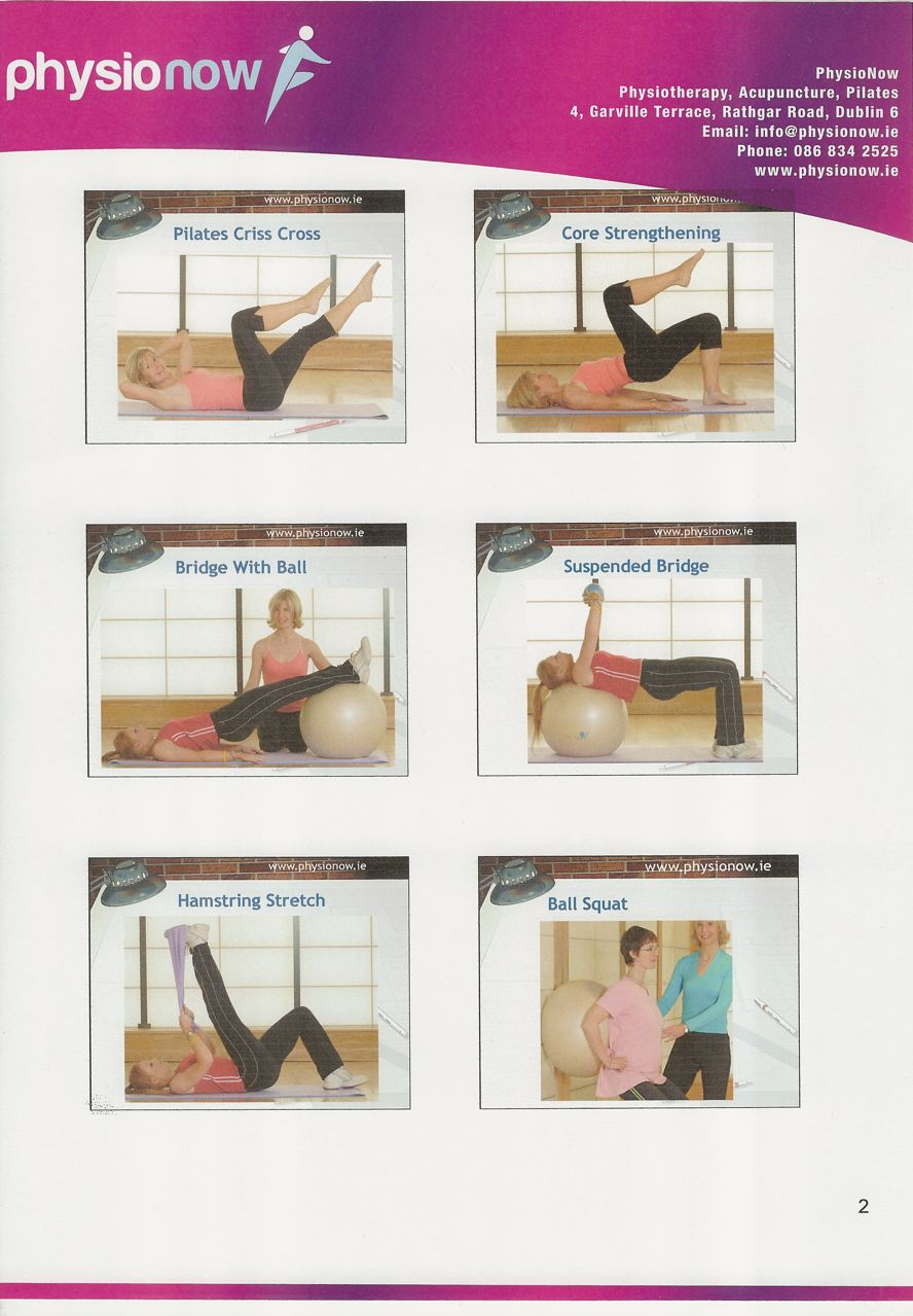 Stretching Exercises PhysioNow Colette O'Flynn