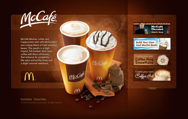 Mccafe Selection