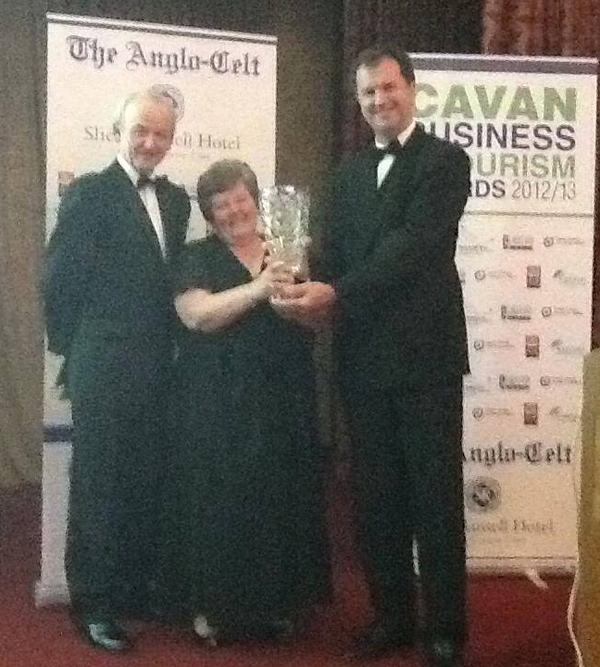 Margaret Farrelly Wins Business Person Of The Year Award