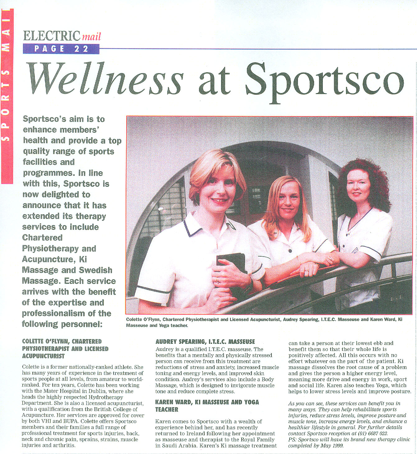 Wellness At Sportsco