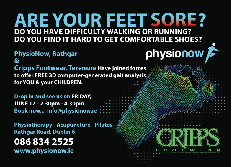 Physio Now Gait Scan Ad 9 5 11 C