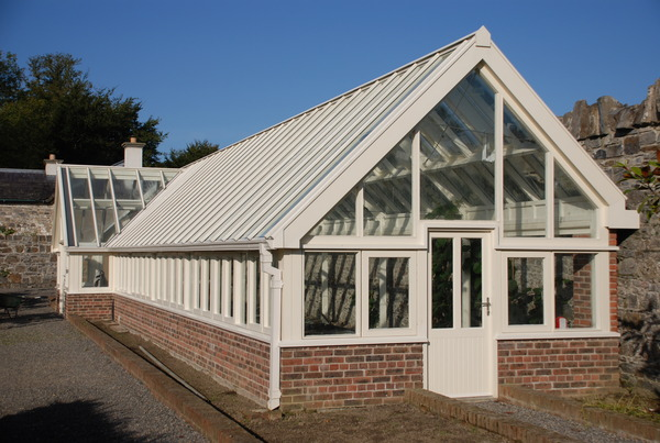 Timber greenhouse