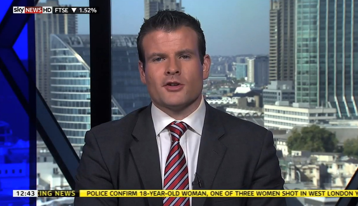 Tadhg Enright Sky News Business