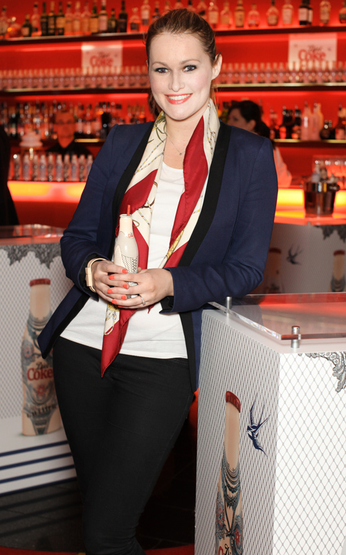 Lorna Claire Weightman  Pictured At The Diet Coke Jean Paul Gaultier  Night  Day Collection Launch At The Harvey Nichols First Floor Bar