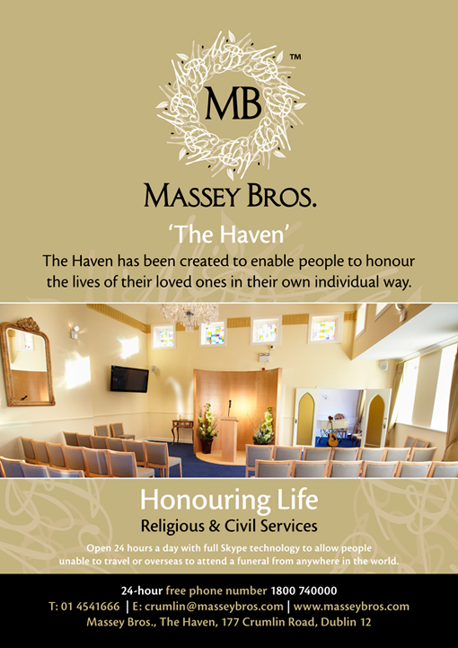 Massey Bros The Haven Advert