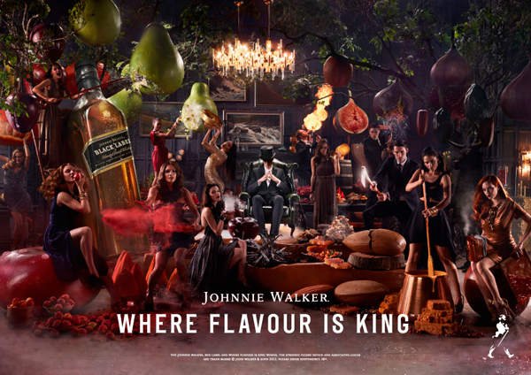 Johnnie Walker Where Flavour Is King 600px