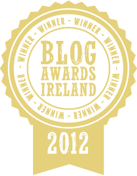 Winner Blog Awards Ireland
