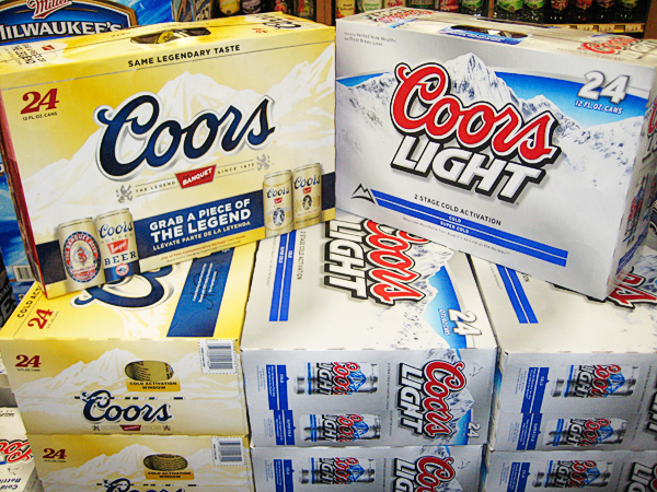 Coors And Coors Light
