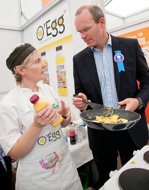 Simon Coveney O Egg Ploughing Championships