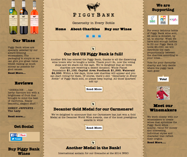 Piggy Bank Wines Home Pg 600px