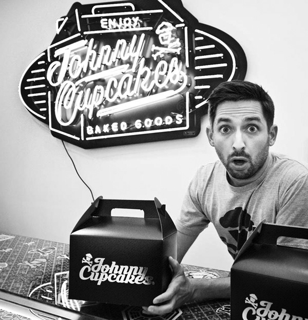 Johnny Cupcakes Packaging