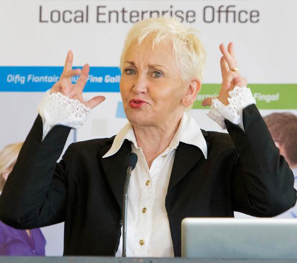 Terry Prone Fingal Enterprise Week 2014