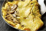 O Egg Mushroom Omlette