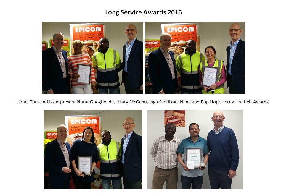 Long Service Awards 2016 For Website