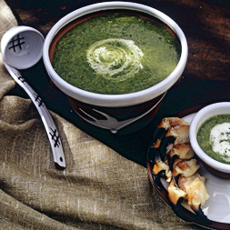 Crab Spinach Soup