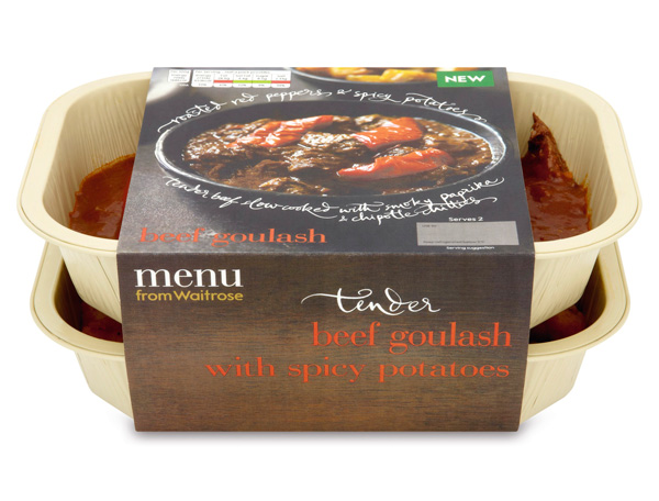 Waitrose Menu Beef Goulash