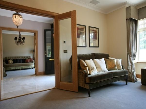 White Oak glazed doors
