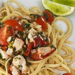 Lobster Chilli Tomato Linguine
