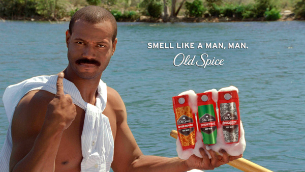 Old Spice Boat Man