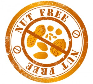 Nut Free Sign