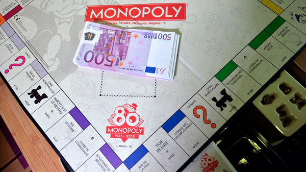 French Monopoly Real Euros