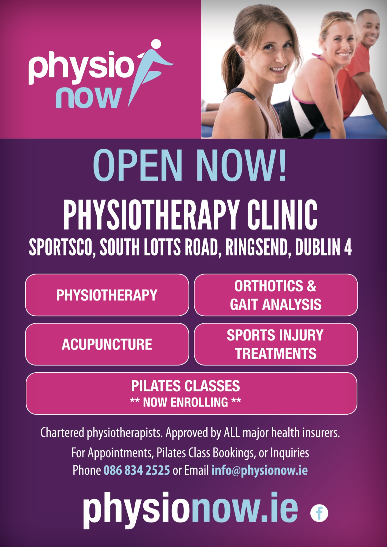Physio Now Poster D4 218