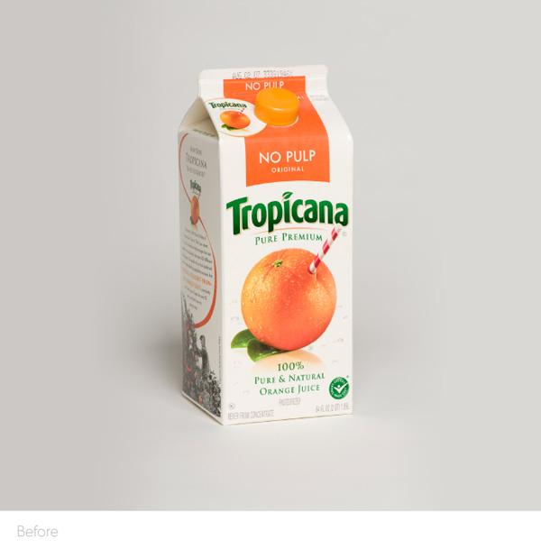 Tropicana Before Rebrand Fail