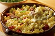 O Egg Cheese Tomato Macaroni