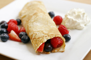 O Egg Pancakes And Berries
