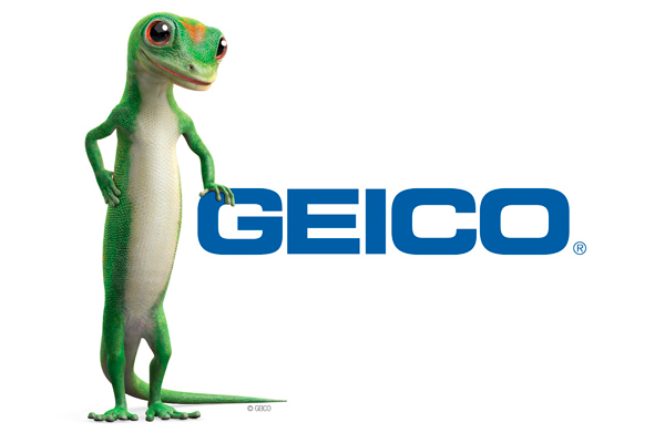 Geico Lizard Mascot Logo