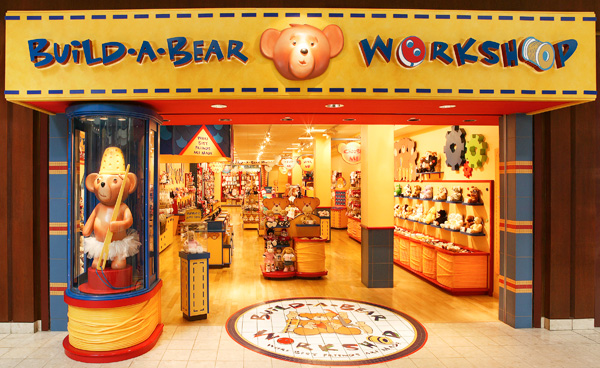 Build A Bear Workshop Store Front