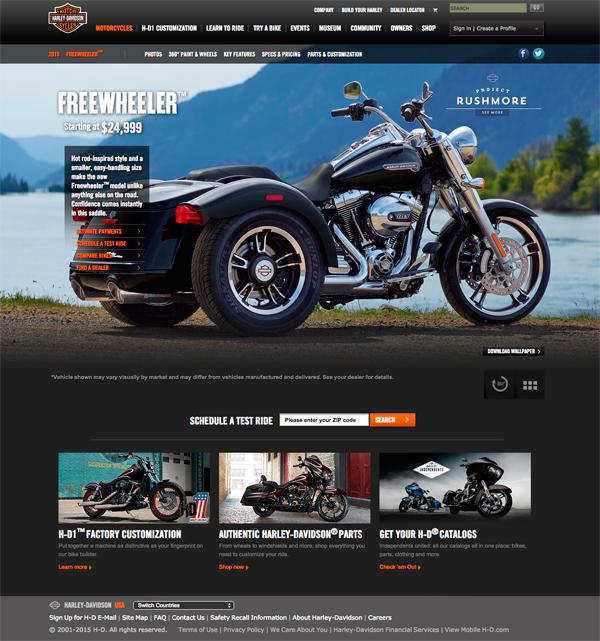 Harley Davidson Free Wheeler 600px
