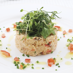 Crab With Cress