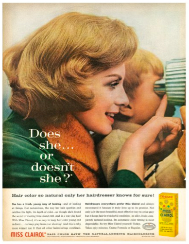 Clairol Does She Or Doesnt She Hair Colourant