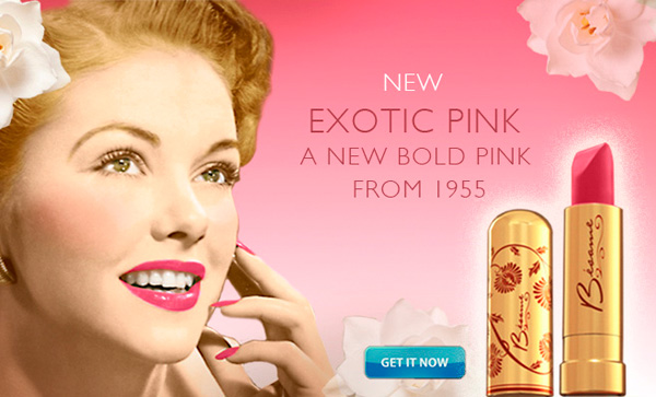 Besame 50s Exotic Pink Lipstick